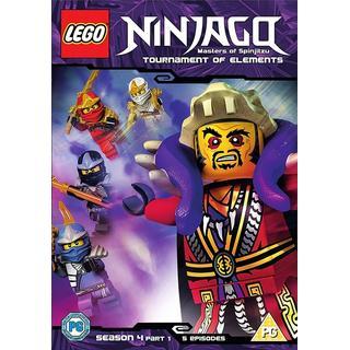 Lego Ninjago - Masters Of Spinjitzu: Season 4 - Part 1 [DVD]